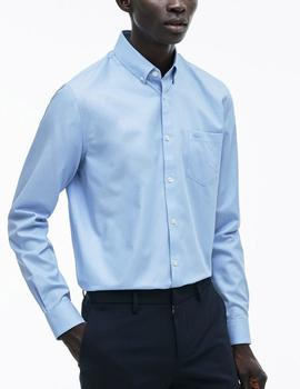CAMISA LACOSTE AZUL CH9623 S14