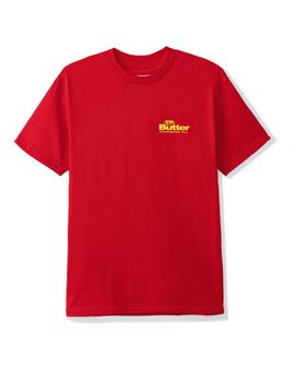 CAMISETA BUTTER GOODS INCORPORATED ROJA