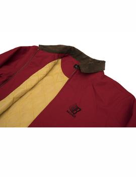 CHAQUETA BRONZE 56K DUCK CANVAS JKT ROJO