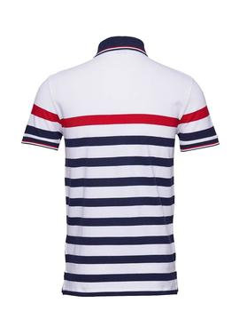 POLO RALPH LAUREN RAYAS SLIM FIT BLANCO