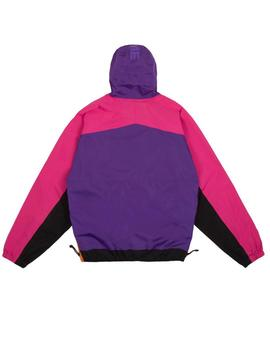 CHAQUETA DIME PULLOVER HOODED SHELL PURPLE