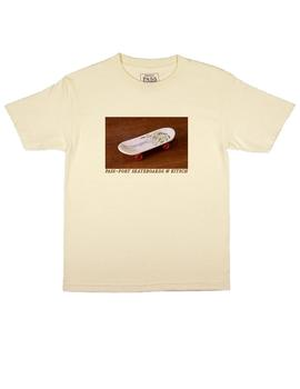 CAMISETA PASSPORT KITSCH TEE CREAM