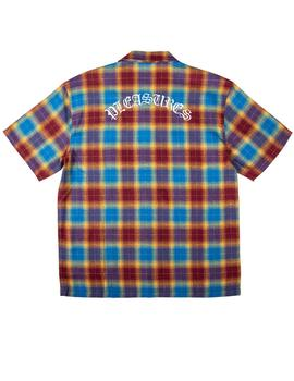 CAMISA PLEASURES SHADOW PLAID BUTTON UP